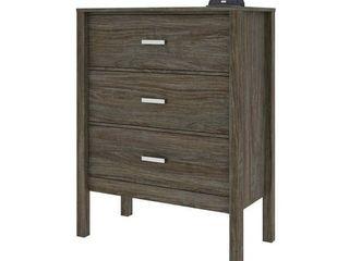 Carbon loft Mulgrew Distressed Walnut Dresser   Retail 173 49