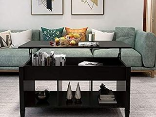 Brown  living Room Furniture lift Top Storage Coffee Table