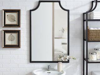 Copper Grove Vertou Oil rubbed Bronze Black Wall Mirror  Retail 89 99