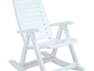 White Rimax Rocking Chair White  Retail 96 49