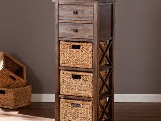 OS3586ZH Drennen 5 Drawer Basket Storage Tower Unit Retail  227 99