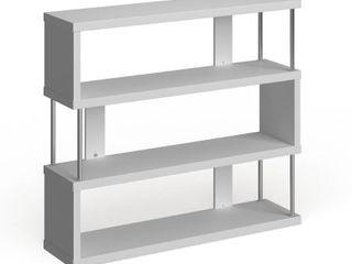 Porch   Den Hanalei Alternating 3 tier Modern Shelf  Retail 124 49