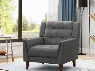 Candace Mid century Modern Armchair by Christopher Knight Home  Retail 244 99