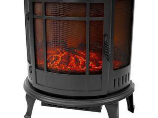 Black Grand Aspirations Richmond Electric Stove Heater Retail  101 49