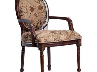Benson Oval Back Accent Chair by Greyson living  Retail 218 49