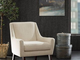 Cream Carson Carrington Turi Cream Morocco lounge Chair Retail  331 99