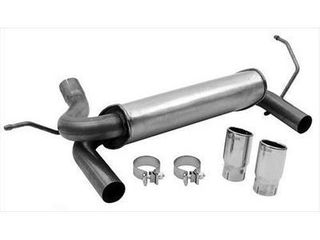 Dynomax 39510 Super Turbo Muffler Cat Back Dual System