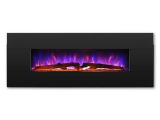 TURBRO Reflektor 1000 sq ft  CSA Certified Electric Fireplace with Heater Remote Controlled Multiple lighting Flame Effects