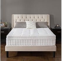 13  Night Therapy Deluxe Euro Box Top Spring Mattress King