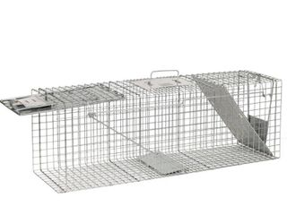 Havahart 1045 live Animal Two Door Raccoon  Stray Cat  Opossum  and Groundhog Cage Trap