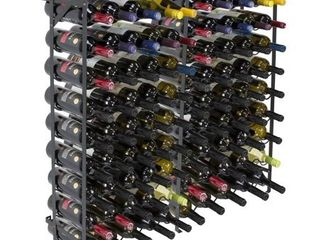 Sorbus Wine Display Rack  100 Bottle  large Capacity Wobble Free Wine Shelves  Wine Storage Stand for Bar  Basement  Wine Cellar  Kitchen  Dining Room  etc  10 Tiers  100 Bottles