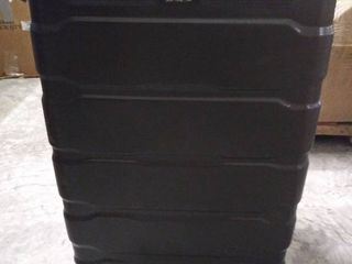 Samsonite Omni PC Hardside Expandable luggage with Spinner Wheels  Black  Checked large 28 Inch