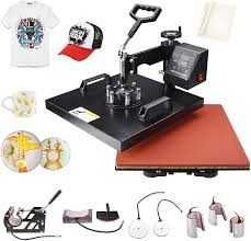 Semester 8 In  1 Digital Sublimation Heat Press Machine