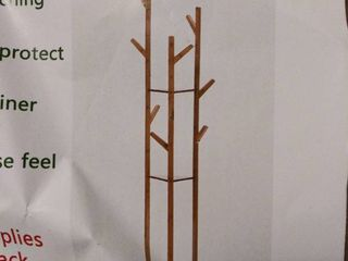 COPREE BAMBOO 3 TIER TREE CROTCH GARMENT RACK