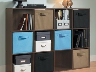 ClosetMaid Cubeicals 12 Cube Organizer   Espresso  Brown