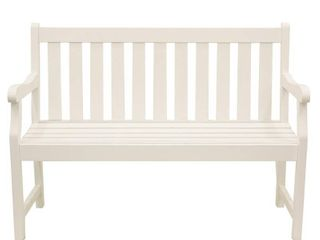 DAAccor Therapy FR8578 Outdoor Bench  White