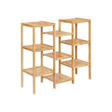 SONGMICS BAMBOO SHElVING