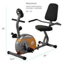 Marcy Recumbent Exercise Bike  ME 709