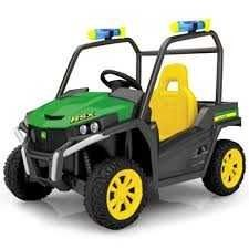 John Deere Battery Operated Gator Outdoor Ride On Toy Vehicle With lights and Sounds   6 Volt