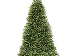 National Tree Unlit 12  Dunhill Fir Hinged Artificial Christmas Tree