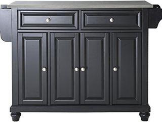 Crosley Furniture Cambridge Full Size Kitchen Island Black