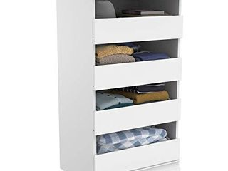 ClosetMaid 4561 Modular Closet Storage Stackable Unit with 4 Drawers  White