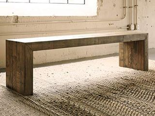 Signature Design by Ashley Sommerford Dining Room Bench  Brown