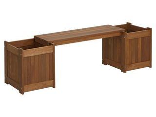 Furinno FG16011 Tioman Patio Furniture Hardwood Planter Box