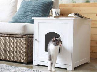 Kitty litter loo  White