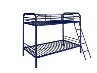 Dhp twin over twin metal bunk bed frame
