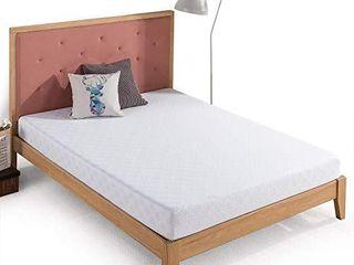 Zinus 6 Inch Gel Infused Green Tea Memory Foam Mattress   Cooling Gel Foam   Pressure Relieving   CertiPUR US Certified   Bed in a Box  Twin