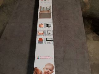 Ottolives Mesh Retractable Gate For Babies Extra Wide Safety Baby Gate 85cm Tall