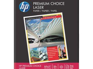 Hp Printer Paper Premium 32lb  8 5x11  100 Bright  6 Ream Case  3000 Sheets