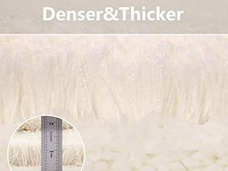 VANZAVANZU Bathroom Runner Rugs 20 x70  Ultra Soft Absorbent Non Slip Fluffy Thick Microfiber Cozy Bath Mat for Tub Shower Bathroom Floors Accessories  Petal Pink