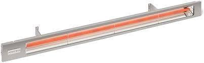 Infratech Sl 4024 BR Slimline 63 5  Single Element Fixture 4000 Watt  240 Volt