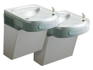 Elkay EZSTl8lC ADA Compliant Barrier Free Dual level Water Cooler  8 Gallons Per Hour