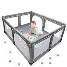 Angelbliss Baby Playpen  Extra large Playard  Indoor   Outdoor Kids Activity Cen