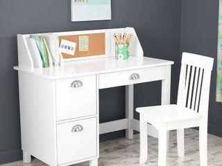 Kidkraft Kids Desk  Study Desk with Drawers   White