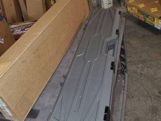 Condition 1 42  Single Scope Hard Plastic Rifle Case with Foam  Gun Metal Gray
