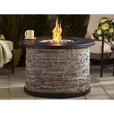 Allen and Roth gas fire pit