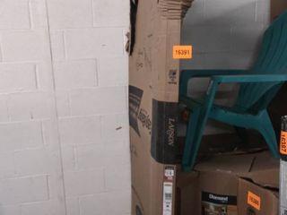 larson 36 inch brown screen door