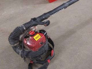 craftsman gas blower unit used strap on