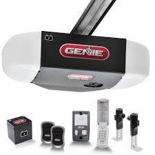 Genie Ultra Quiet Battery backup Belt Drive 1 1 4 Hp 7055 tkve Gar Door Opener