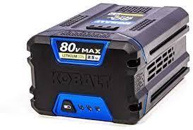 kobalt 80 v max battery and charger