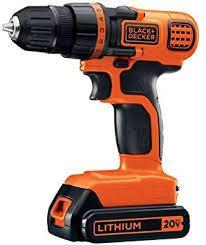 black decker drill 20 v