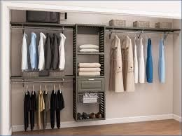 Allen and Roth complete closet kit antique grey as is
