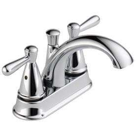 Peerless Bayside Chrome 2 handle 4 in Centerset Bathroom Faucet