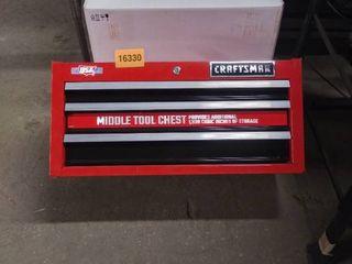 craftsman tool box middle no keys