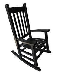 Garden Treasures Black 31 97in Children Rocking Chair 110lb Weight limit