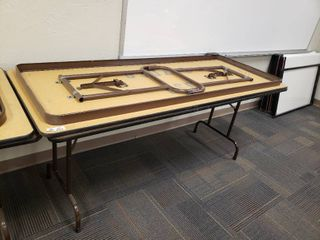 lot of 2 Folding Tables